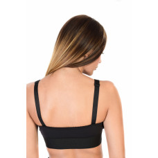 Compressive Support Bra Magnetique, Stage l, Black
