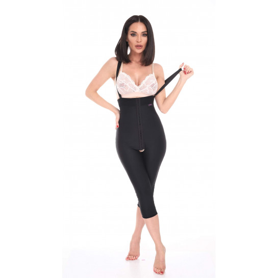 High Waist Front Close Garments Below Knee