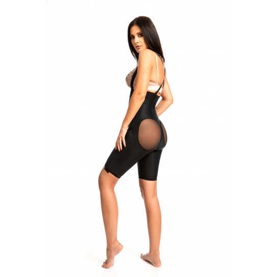 High Waist Panty for Brazilian Lift Buttocks Augmentation, Stage I - Black