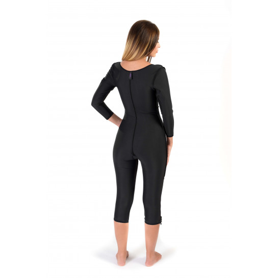Long Sleeve Bellow the Knee Bodysuit, Stage I