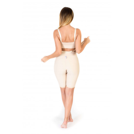 Low Waist Lipo Panty Above Knee, Stage I, Beige
