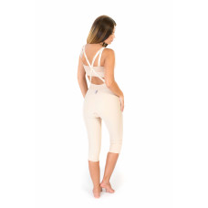 Low Waist Lipo Panty Bellow Knee, Stage I, Beige