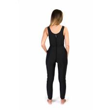 Sleeveless Above the Ankle Bodysuit, Stage I, Black